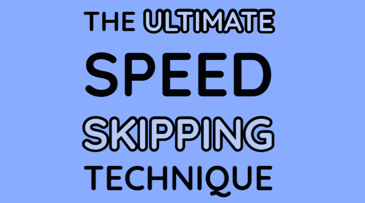 virtual skipping league the ultimate speed skipping technique